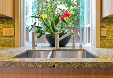 Kitchen Sink Bay Window Ideas