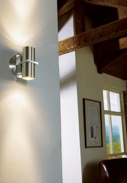 Alpine Wall Sconce In Hallway Contemporary Hall