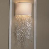 Dripping Crystal Shade Sconce - 2 Colors - Lamp Shades ...
