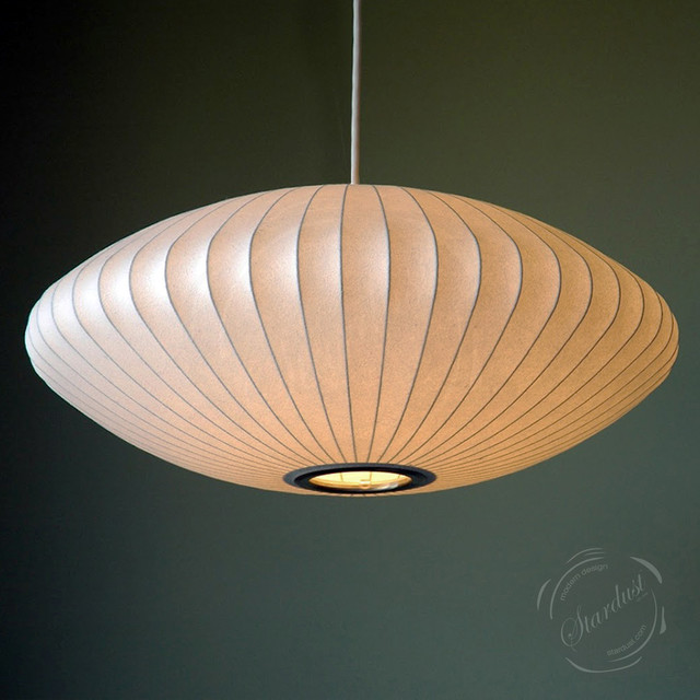 George Nelson Saucer Lamp  Modern  Pendant Lighting