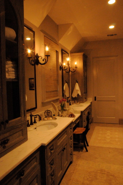 Green Tree House  Traditional  Bathroom  houston  by