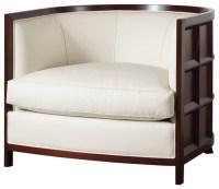 Bevel Lounge Chair - Baker Furniture - Modern - by Baker ...
