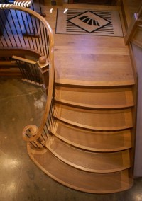 Diamond Cut Tread - Traditional - Staircase - other metro ...