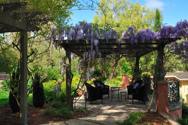 photos mediterranean patio and wisteria pergola mediterranean patio san francisco