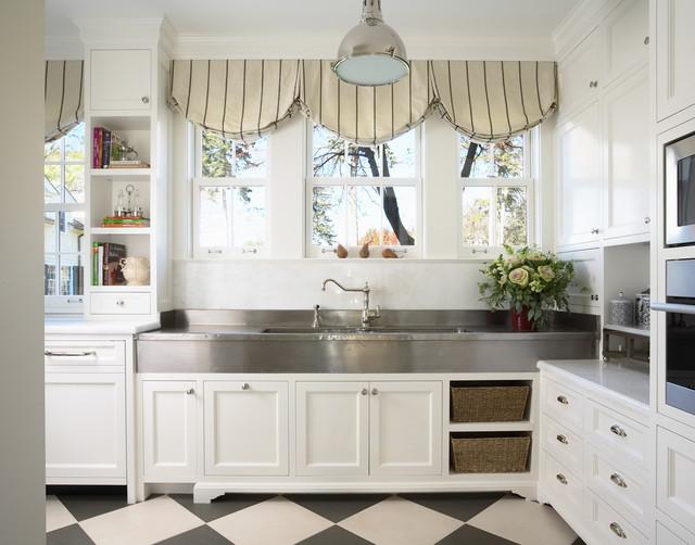 Silver Sink Traditional Kitchen Minneapolis Rlh Studio