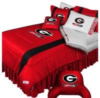 NCAA Georgia Bulldogs Comforter Pillowcase College Bedding ...