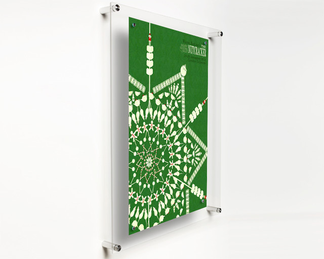 Popster Poster Floating Acrylic Wall Frame 19x23