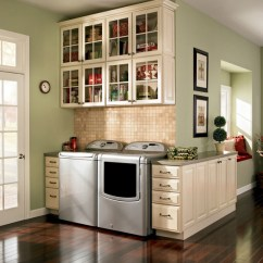 Shenandoah Kitchen Cabinets Rustic Outdoor Kitchens Laundry - Traditional Room Dc Metro By ...
