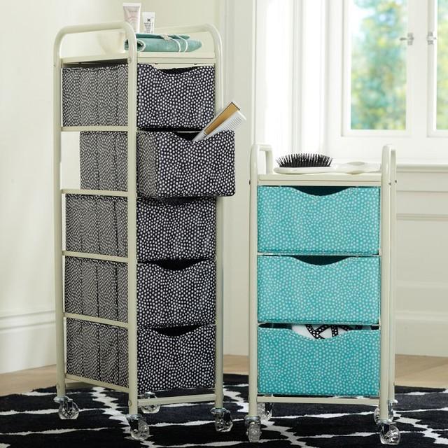 Mini Dot ReadyToRoll Storage Cart  Bathroom Cabinets