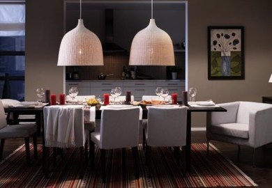 Simple Dining Table Decor