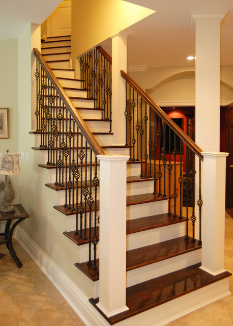 Staircase  Traditional  Basement  New York  By Home