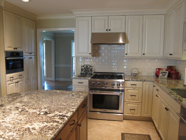 kitchen table island combo small lighting with coffee area - traditional other ...