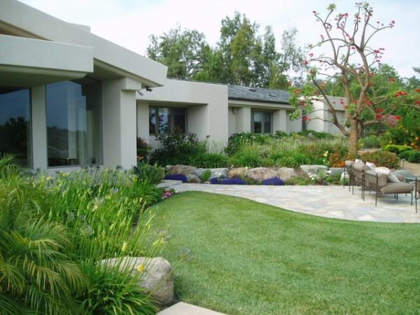 contemporary rancho santa fe landscape