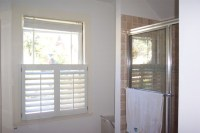 Cafe Style Shutters - Traditional - Bathroom - boston - by ...