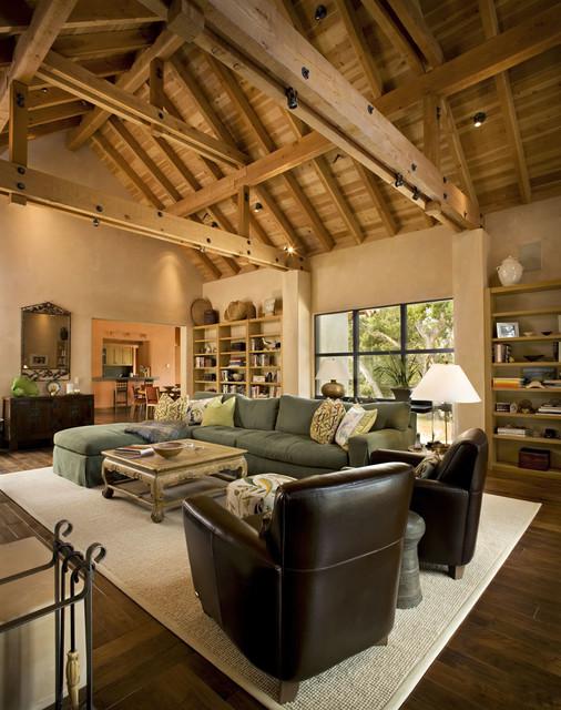 Rustic Modern Living Room
