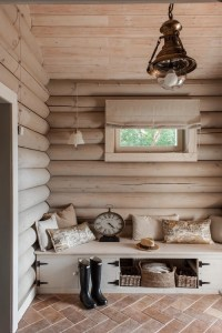 10 Examples of Log Walls - Town & Country Living