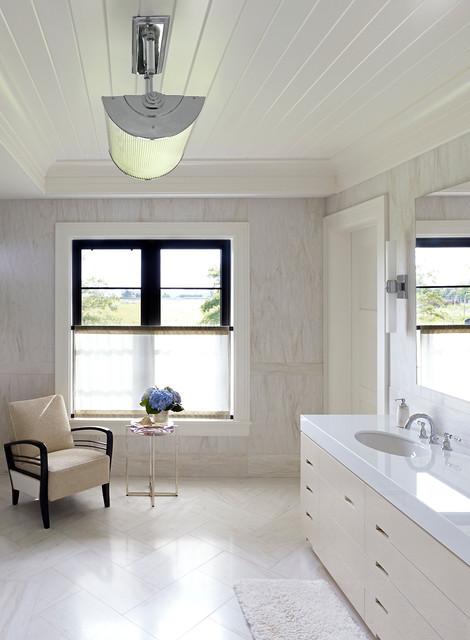 Hampton Beach House  Beach Style  Bathroom  new york