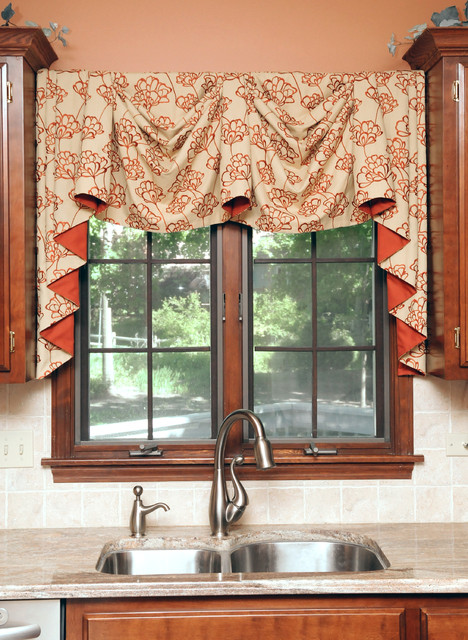Kitchen  Modern  Curtains  chicago  by Beyond Blinds Inc