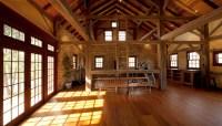 Black Walnut Farm Barn - Traditional - Home Office - other ...
