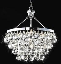 Indoor 5-Light Luxury Crystal Chandelier - Contemporary ...