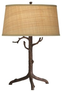 iron bronze twig lamp - Traditional - Table Lamps - by ...
