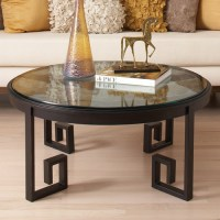 Greek Key Cocktail Table - Contemporary - Coffee Tables ...