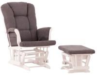 White Nursery Glider - Beach Style - Rocking Chairs ...