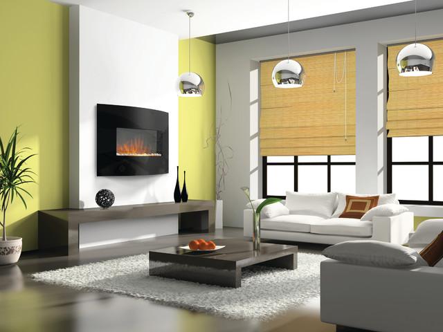 Electric Fireplaces  Contemporary  Living Room  denver
