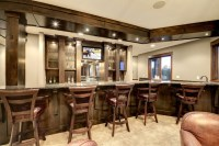 Dream Home Bar - Transitional - Family Room - minneapolis ...