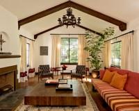 White Brick Mediterranean - Mediterranean - Living Room ...
