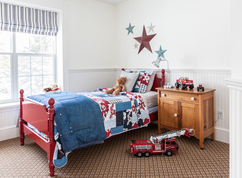 Red White And Blue Decor Country Design Home