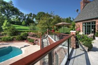 Luxury Deck and Patio - Contemporary - Patio - st louis ...