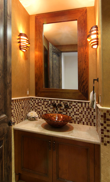 Modern Spanish  Mediterranean  Bathroom  los angeles  by Konni Tanaka Design Group