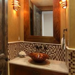 Beach Inspired Living Rooms College Room Furniture Modern Spanish - Mediterranean Bathroom Los Angeles ...
