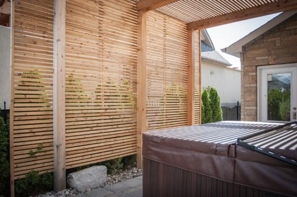 modern carpentry - woodbridge pergola