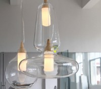 Modern NU Clear Glass Pendant lighting - Contemporary ...