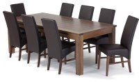 dinner table with chairs 2017 - Grasscloth Wallpaper