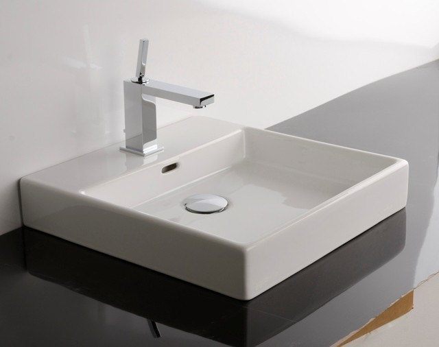 """Ws Bath Collections Plain 45a Counter Top Sink 177"""""""