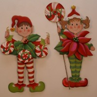 Christmas Elves Holiday Decorations - Books - by ...