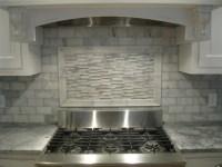 white marble backsplash - Traditional - Kitchen - boston ...