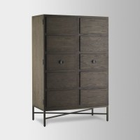 Paneled Armoire - Modern - Armoires And Wardrobes - by ...