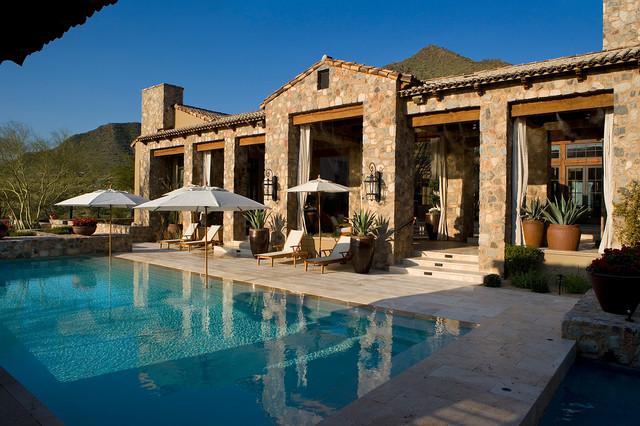 Silverleaf Ranch Hacienda Pool  Mediterranean  Pool