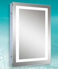 Lighted Image - LED Bordered Illuminated Mirror ...