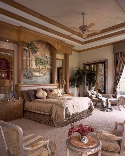 mediterranean bedroom design ideas Viva India Villa - Mediterranean - Bedroom - miami - by Perla Lichi Design