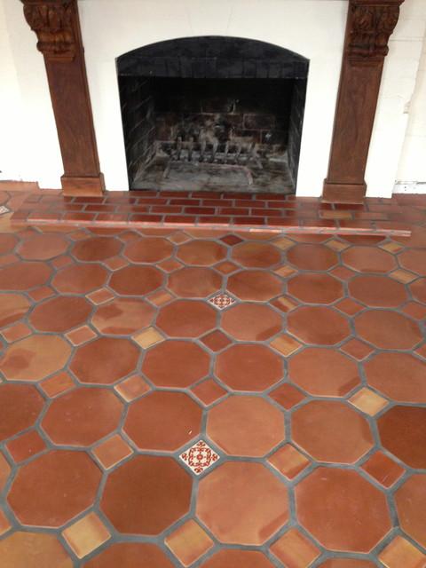 Octagon Terracotta Saltillo  Mediterranean  by Rustico Tile and Stone