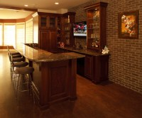 basement wet bar ideas | For the Home | Pinterest