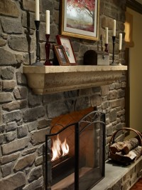 Angelo Fireplace Surround - Contemporary - Indoor ...