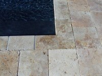Travertine Tile New Jersey - Mediterranean - Outdoor Decor ...