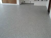 Garage Floor With Westcoat Liquid Granite Flake Floor ...