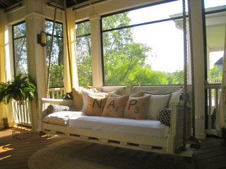 Gorgeous Screen Porch Decorating Ideas Atlanta Curb Appeal